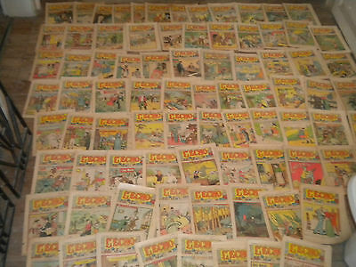 Collection 87 x Vintage comics L'écho du Noel 1930s French