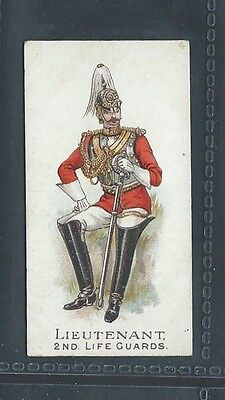 Gallaher Types Of The British Army 3 Pipes Brown No 4 Lieutenant 2Nd Life Guards