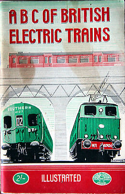 Ian Allan Abc - British Electric Trains - January 1948 - Unmarked