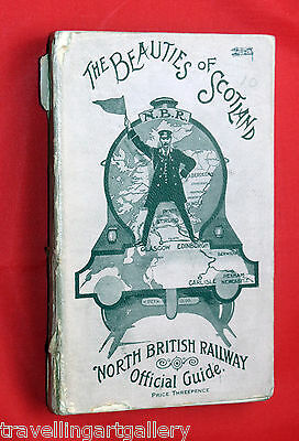 North British Railway Guide Book - The Beauties Of Scotland 1914