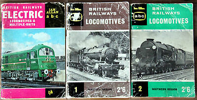 IAN ALLAN ABC - 3 x LOCOMOTIVES SOUTHERN/WESTERN & ELECTRIC 1960 & 1963