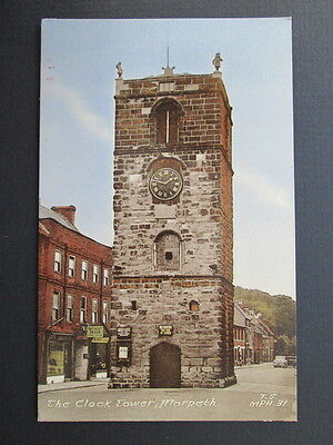 THE CLOCK TOWER, MORPETH - FRITH'S SERIES No MPH.31 (1950s)