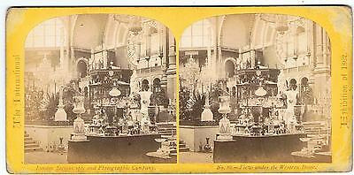 Stereoview - 1862 Exhibition - No 89 View Under The Western Dome