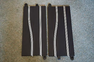 Scalextric Sport Track Present Two Side Swipe Straights Not Boxed  C8246