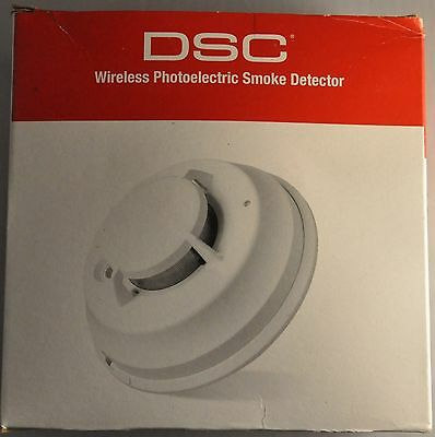 DSC WS4916 Wireless Photoelectric Smoke Detector with Heat Detection