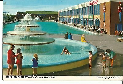 Butlins Filey The Outdoor Heated Pool John Hinde Ltd 3F72 Pc