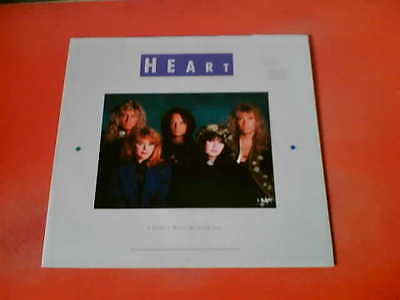 """HEART I Didn't Want To Need You UK 12"""" Vinyl 45 + Poster!"""