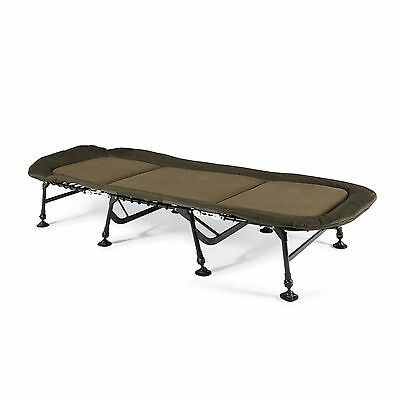 BRAND NEW Cyprinus Extra Wide Flat Carp Fishing Bed Chair Bedchair RRP £269.99