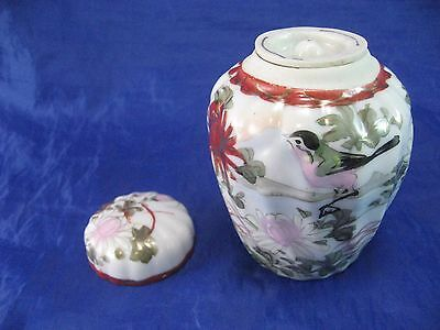 Chinese Porcelain Jar Double Lidded style Antique