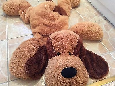 Adorable Large Soft Cuddly Dog Toy By Clintons