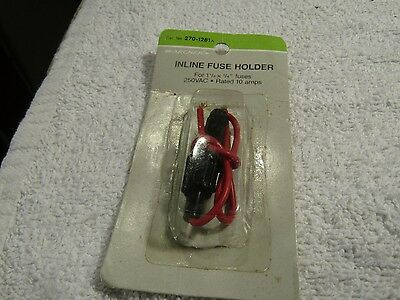 Archer Inline Fuse Holder 1 1/4 x 1 1/4 Fuses New Stock 278-1281