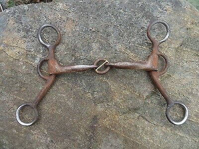 DUTTON Short Shank Smooth Lifesaver Handmade Western Horse Bit #091
