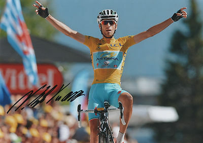 VINCENZO NIBALI - Tour de France winner 2014, signed photo