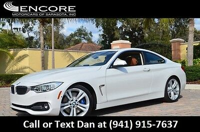 2014 BMW 4-Series 435i Coupe W/Premium, Technology and Navigation Pa 2014 435i Coupe W/Premium, Technology & Navigation Moonroof 23K Miles Pristine!