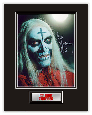 Sale! House of 1000 Corpses Bill Moseley (Otis Driftwood) Signed 14x11 Display