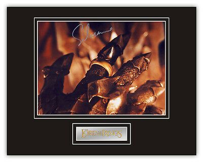 Sale! Lord Of The Rings Sala Baker (Sauron) Signed 14x11 Display