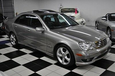 2006 Mercedes-Benz C-Class C230 SPORTS SEDAN ONLY 44K MILES - SHOWROOM !! HOWROOM CONDITION - NEW TIRES - LOW MILES - GORGEOUS COLORS!!