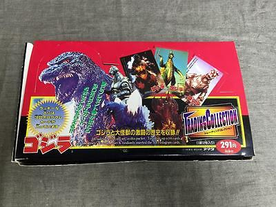Lot of 15 sealed vintage Godzilla packaged trading cards original display box!