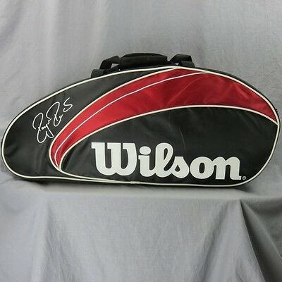 Roger Federer Signature Wilson Tennis Raquet Bag