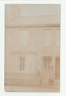 20, Mitchell Street, Wellington. Somerset. Real Photo Postcard By Occupant.