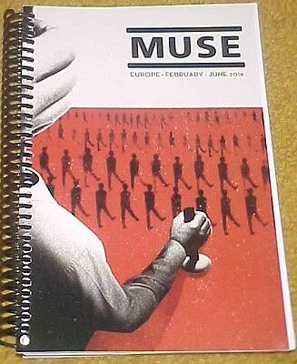 Muse 2016 Europe Tour February ~ June Itinerary (60 pages)
