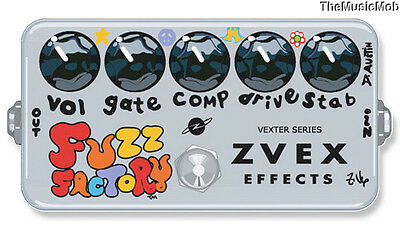 NEW ZVEX VEXTER FUZZ FACTORY FREE US SHIPPING w/ FREE CABLE !!!!