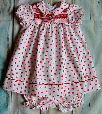 Baby Girl Designer Clothes Pretty Baby Dior Dress & Matching Knickers 1-2 Years