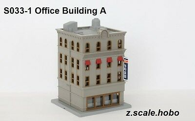 Rokuhan s033-1 Z Scale Pre-Built Building Structure Downtown *NEW $0 SHIPPING