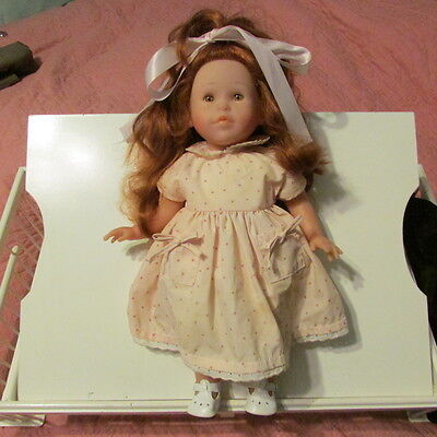 """Corolle Pouper Toddler Doll- Red Hair 18"""" Made in France"""