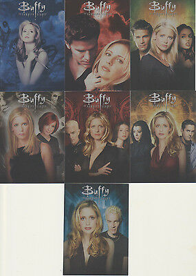 Series 2 Buffy The Vampire Slayer Ultimate Collector's Set - 7 Card Montage Set