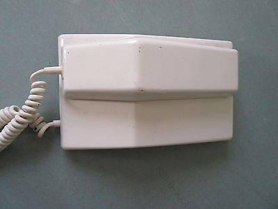 Old Vintage Northern Electric Contempra White Wall Dial Telephone