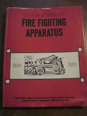 1964 FIRE FIGHTING APPARATUS HB Book..112pgs..400 Photos & Ads..(100 Years Of)