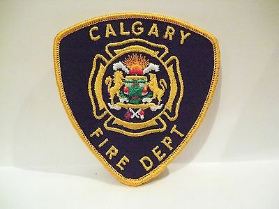 fire ems ambulance patch  CALGARY FIRE DEPT ALBERTA CANADA   1988 OLYMPICS PATCH