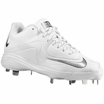 New Nike Air MVP Pro 2 II Metal Mens Baseball Cleats : White