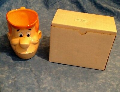 Vandor George Ceramic Mug from the TV Series Jetson 4.25 inches tall w/box!