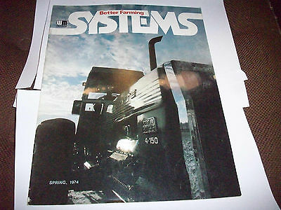 1974 White Better Farming Systems Magazine 4-150 Tractor Lawn & Garden