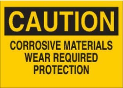 G7608526 Safety Sign Label, 3-1/2 In. H, 5 In. W 2PK