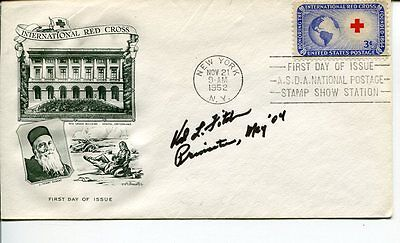 Val Fitch Nobel Prize Physics Manhattan Project Rare Signed Autograph FDC