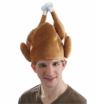 Roasted Turkey Christmas Thanksgiving Funny Men Costume Hat