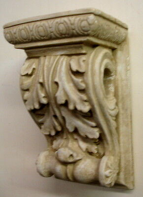 Scroll Brackets with Hole Greek Wall Sconce Antique Classical Home Decor