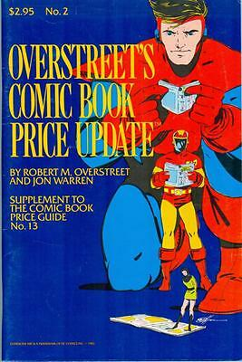 Overstreet's Comic Book Price Update #2 - 1983 prices