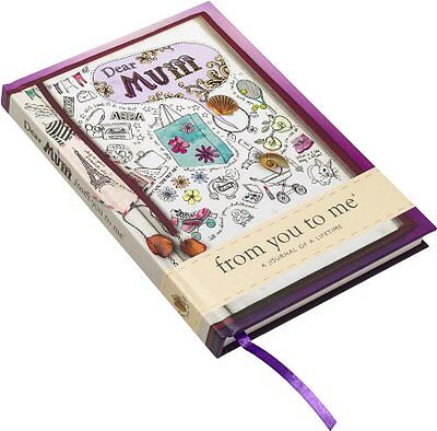Dear Mum, from You to Me New Hardcover Book from you to me