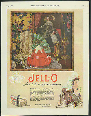Jell-O - America's most famous dessert ad 1926 Spain theme