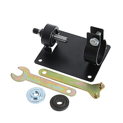 Electric Drill Cutting Seat Stand Machine Bracket Table Angle Grinder + 2 Wrench