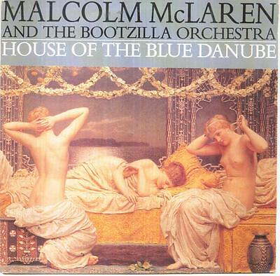 "MALCOM McLAREN - House of the blue danube - 7"" - 1989 - New Wave"