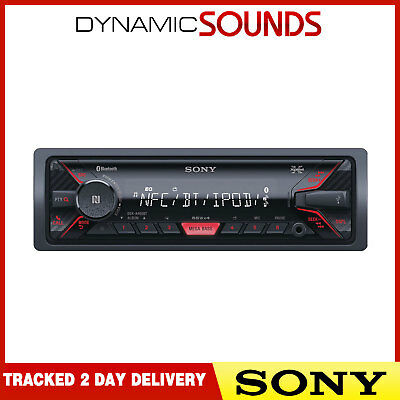 Sony DSX-A400BT Bluetooth Handsfree Aux USB MP3 Android iPod iPhone Car Stereo