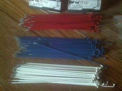 PROLITE COLOURED BMX SPOKES, 180, 182, 184, 186, 188, 230, 240mm