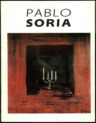 Pablo Soria: A Poetry of Intersections art exhibition catalog 1994