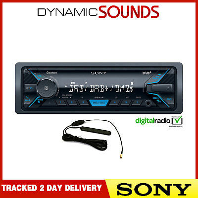 Sony DSX-A500BD Aux USB iPod iPhone Bluetooth DAB Car Stereo + Aerial - REFURB