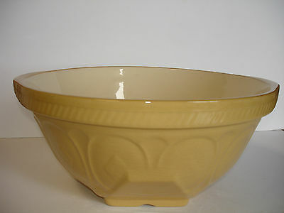 Huge Vintage 1930s T G  GREEN England Classic GRIPSTAND Mixing Bowl KITCHENALIA